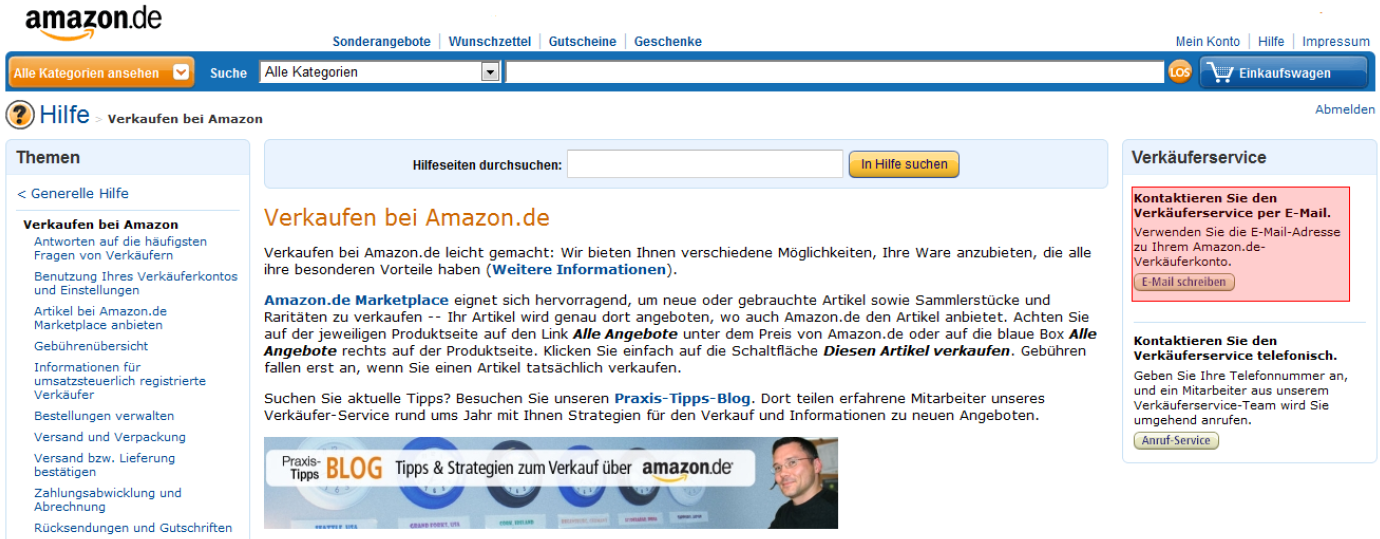 amazon code mail account-update amazon.de